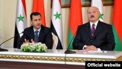Башар Асад і Аляксандар Лукашэнка