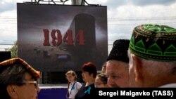 На 18 май всяка година в Крим татарите си почитат паметта на жертвите на режима на Сталин.