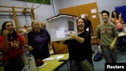 На дільниці у школі в Барселоні готуються рахувати голоси, 1 жовтня 2017 року