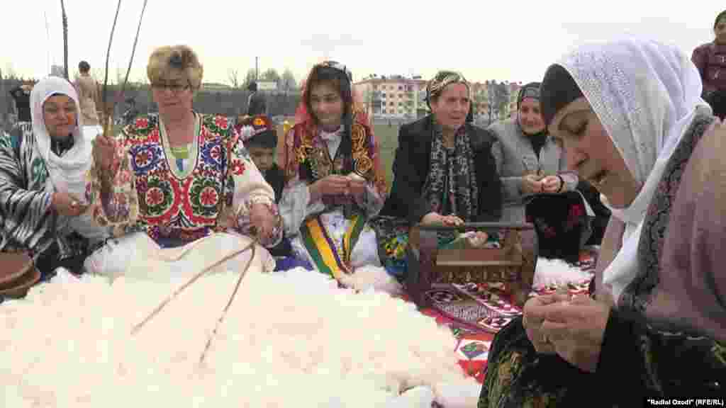 Norouz celebrations in Dushanbe