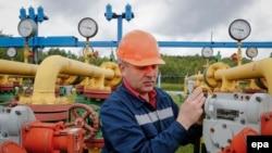 """""""Газпромдун"""" газ бөлүштүрүүчү жайы."""