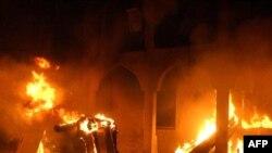 Požar u džamiji 2004.