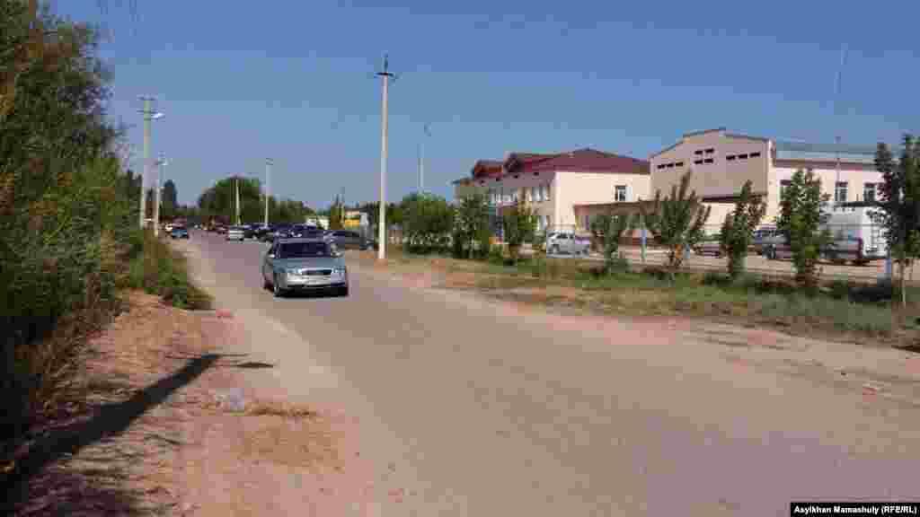 Ералиев ауылдық округінің бір көрінісі.