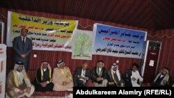 جانب من المؤتمر العشائري في الزبير بمحافظة البصرة