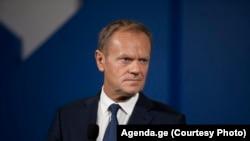 Udhëheqësi i Partisë Popullore Evropiane, Donald Tusk.