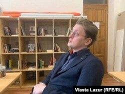 Володимир Жбанков, координатор проєкту EmigRussia
