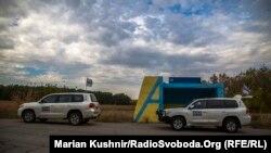 Мониторинговая миссия ОБСЕ на востоке Украины (Архивное фото)