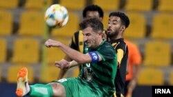 بازی تیم ذوب آهن اصفهان و الاتحاد عربستان از دور رفت مرحله یکهشتم نهایی لیگ قهرمانان آسیا