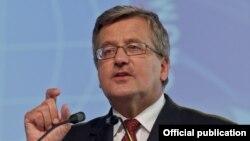 Броніслав Коморовський, президент Польщі (архівне фото)