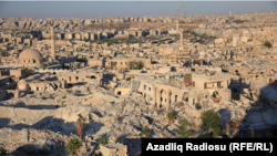 Соғыстан қираған Алеппо қаласының қазіргі көрінісі.
