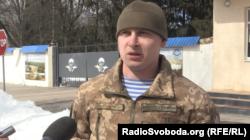Дмитро Бежан, офіцер навчального центру десантно-штурмових військ