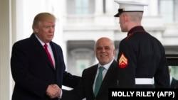 Presindeti Donald Trump pret në Shtëpinë e Bardhë kryeministrin e Irakut, Haidar al-Abadi