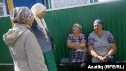 Татарстанның Сарман районы Нөркәй авылы хатыннары