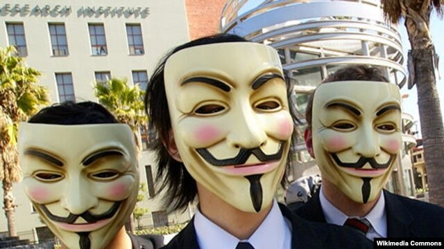 Anonymous: taking on the world