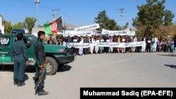 Активисты Народного движения за мир, Афганистан. 8 ноября 2019
