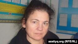 Қазақстандық құқық қорғаушы Елена Семенова.