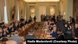 Sa sastanka ministara Višegradske grupe i Zapadnog Balkana u Pragu, 13. novembra 2015