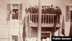Shpallja e pavarësisë, 1912