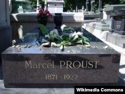 Prustun qəbri, Paris, Pere-Lachaise məzarlığı