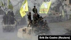 نیروهای دمکراتیک سوریه؛ در این تصویر آرشیوی در اکتبر سال ۲۰۱۷