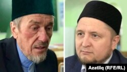 Рафаил Сафин (с) һәм Фәрит Шаһиев (у)