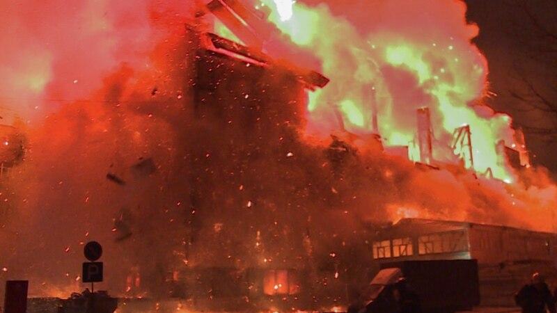 Названа причина пожара на складе в Новосибирске, где погибли 10 человек
