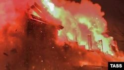 Пожар в жилом доме (иллюстративное фото)