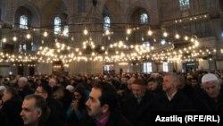 Стамбулдагы Султан Ахмат мечити. Сүрөт качан тартылганы белгисиз.