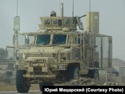 Бронеавтомобиль армии США вблизи Мосула