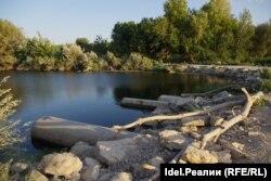 Плотина на Большом Иргизе