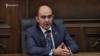 Глава фракции «Лусавор Айастан» Эдмон Марукян в ходе парламентских брифингов, Ереван, 18 февраля 2019 г.