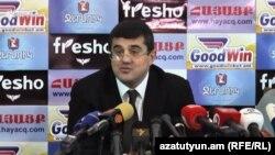 Бывший премьер-министр Нагорного Карабаха Араик Арутюнян, 11 декабря 2019 г.