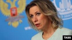 Россия Ташқи ишлар вазирлиги матбуот котиби Мария Захарова