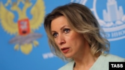 "Russian Foreign Ministry spokeswoman Maria Zakharova: ""Put simply, American diplomats in Russia will be treated in the same way."""