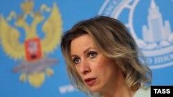 Rusiya XİN-in sözçüsü Mariya Zaxarova