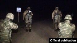 نیروهای مسلح آذربایجان در منطقه چلب جر ناگورنو قرهباغ