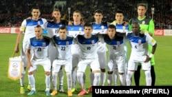 Сборная Кыргызстана по футболу. Иллюстративное фото.