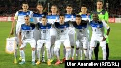 Национальная сборная Кыргызстана по футболу.