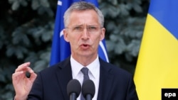 Generalni sekretar NATO-a u junu je posjetio Kijev