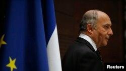 لوران فابیوس، وزیر خارجه فرانسه
