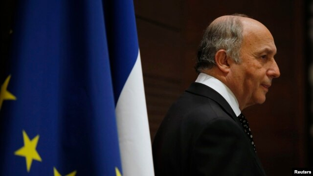 French Foreign Minister Laurent Fabius (file photo)