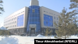 Здание прокуратуры Павлодарской области. Павлодар, 15 февраля 2017 года.