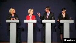 Мюнстерде Норвегия, Германия, Нидерланды жана АКШнын коргоо министрлери жолугушту. Германия. 22-июнь, 2015-жыл