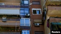 Pamje pas tërmetit në Shqipëri