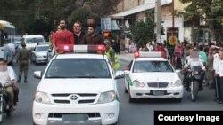 دستگیری و گرداندن افراد موسوم به «اراذل و اوباش»