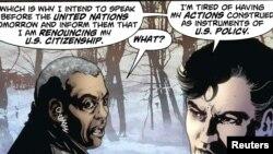 صحنهای از کمیک استریپ جدید سوپرمن