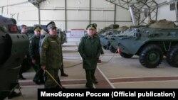 Міністр оборони Росії Сергій Шойгу в Криму