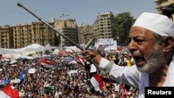 Протестующие на площади Тахрир