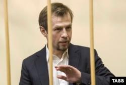 Бывший мэр Ярославля Евгений Урлашов в суде, 1 декабря 2015
