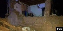 تصویری از آسیبها در روستای ورنکش ترکمنچای